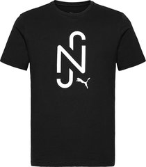njr 2.0 logo tee t-shirts short-sleeved svart puma