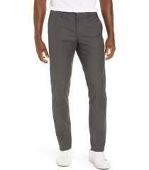 men's bonobos weekday warrior athletic stretch dress pants, size 36 x 34 - grey
