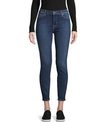 hudson women's krista skinny ankle jeans - steinway - size 24 (0)