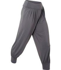 pantaloni per wellness (grigio) - bpc bonprix collection