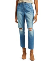 l'agence women's bridget high-rise slouch straight jeans - dakota - size 23 (00)