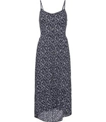 bare pretty midi dress knälång klänning blå hollister