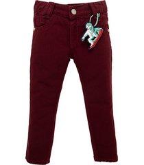 pantalon rojo  offcorss