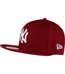 boné new era flamengo 940 hc reddish