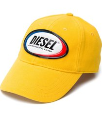 diesel c-diaz logo patch cap - yellow