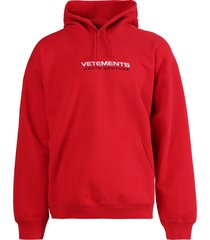 haute couture hoodie, red