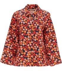 marni pop garden print jacket