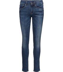 3301 c hg ski w slimmade jeans blå g-star raw