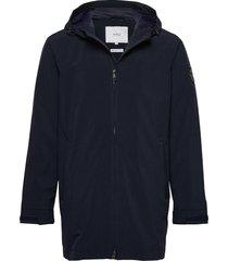 haul jacket regenkleding blauw makia