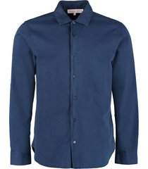 orlebar brown giles cotton shirt