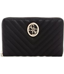 billetera blakely slg cheque organizer negro guess