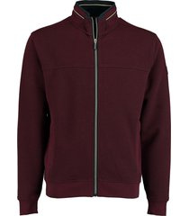 baileys sweat vest bordeaux met rits 202215/549