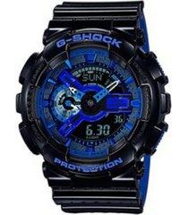reloj g shock ga_110lpa_1a negro silicona