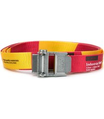 off-white mini 2.0 industrial belt - yellow