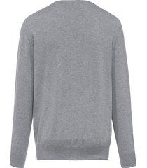 trui van 100% kasjmier, topkwaliteit, model ralph van peter hahn cashmere grijs