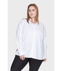 camisa evasê bold 100% algodão plus size -50 feminina