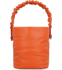 nico giani adenia soft leather bucket bag
