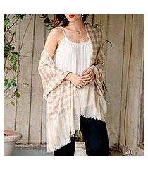 cashmere shawl, 'ladakh luxury' (india)