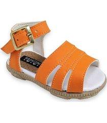 sandalia naranja ragazzini