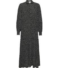 colombo maxi dress maxiklänning festklänning svart just female