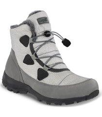 botas outdoor faith gris para mujer croydon