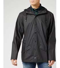 rains men's jacket - black - s-m