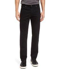 ag tellis sud modern slim fit stretch twill pants, size 40 x 34 in sba black at nordstrom
