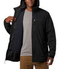 columbia men's gate racer soft-shell jacket