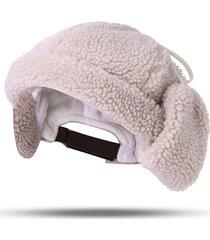 caldo berretto in cashmere con cappuccio e cappuccio per uomo