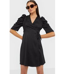 co'couture justin wrap crop dress loose fit dresses