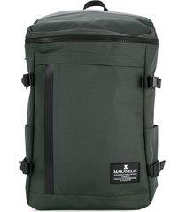 makavelic rectangle backpack - grey
