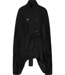 ann demeulemeester capes & ponchos