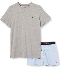 short set woven print pyjama