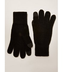 mens black touchscreen gloves