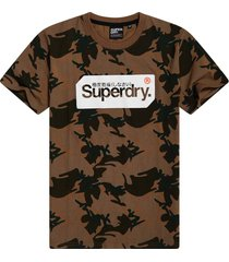 superdry heren t-shirt core logo army