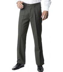 pantalón casimir pinzado verde kotting