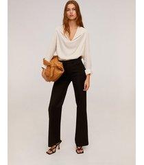 blouse met reverskraag
