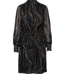 petrinaiw short dress knälång klänning svart inwear