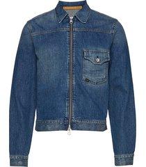 ry zip jeansjack denimjack blauw tiger of sweden jeans