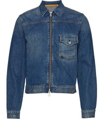 ry zip jeansjack denimjack blauw tiger of sweden jeans