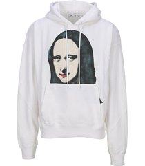 off white mnalisa hoodie