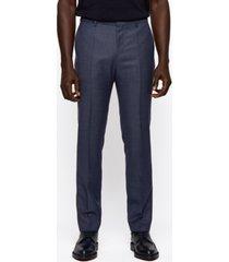 boss men's ben2 slim-fit wool trousers