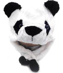 touca pelúcia thata esportes gorro animais bichinho cosplay fantasia infantil panda