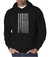 la pop art men's word art hoodie - anthem