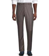 saks fifth avenue men's wool trousers - taupe - size 34