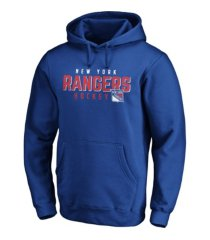 majestic new york rangers men's empty netter hoodie