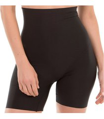 corrigerende slips selmark hoge taille panty met etna zwarte omhulling