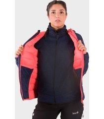 chaqueta de plumas montafon para mujer multicolor izas outdoor