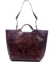 old trend gypsy soul leather tote bag