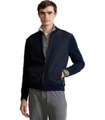 polo ralph lauren men's hybrid full-zip sweater